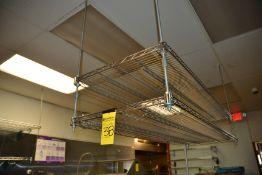 (8) Stainless Steel Shelves