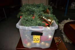 LOT - Assorted Christmas Ornaments