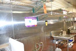 LOT - Stainless Steel Walls, Contents of Kitchen