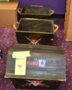 Wood Pirate Chests