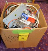 Lot - Box of Computer Cables, Cords, Etc.