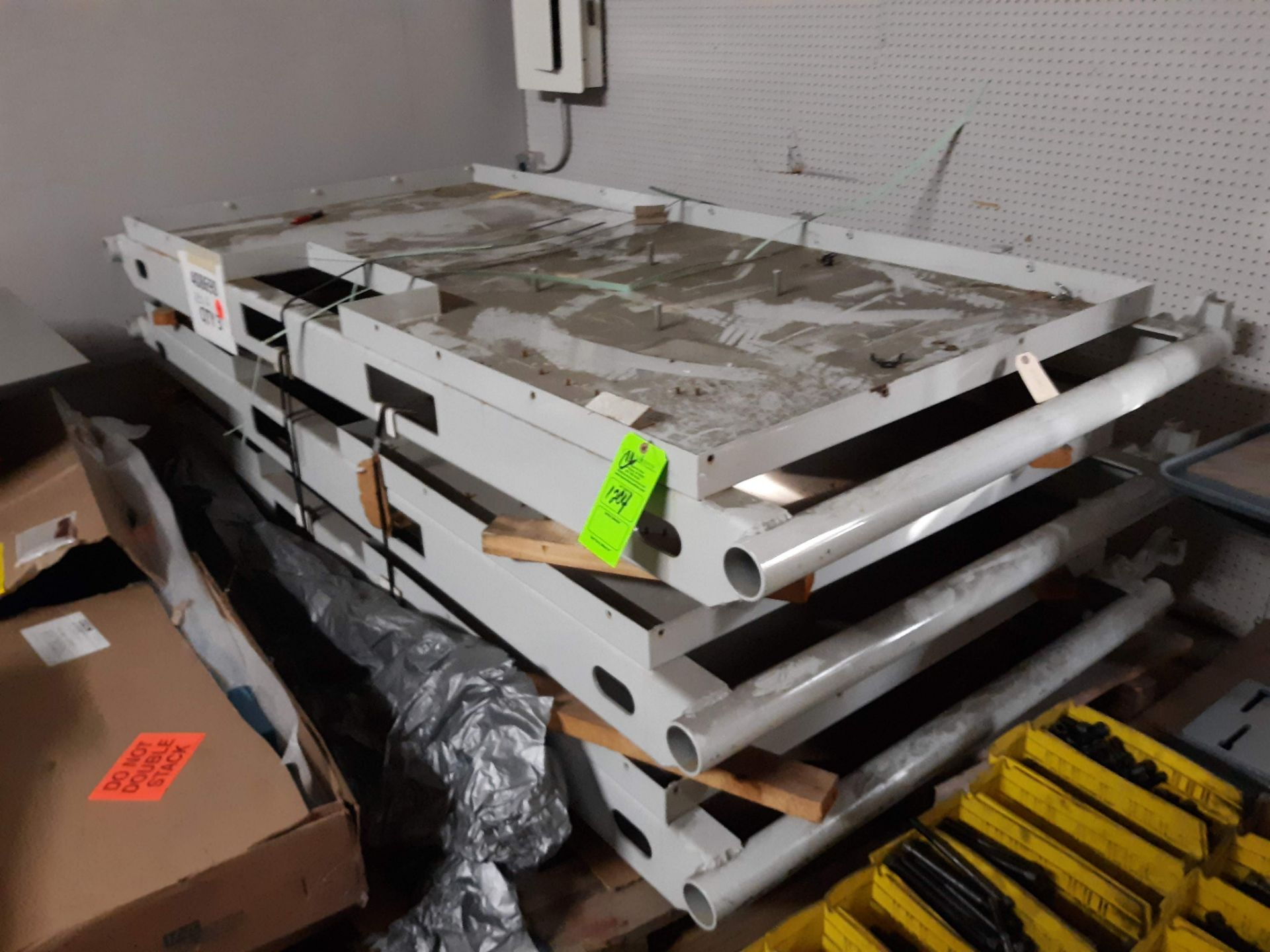 Lot 1204 - (3) STEEL MACHINE BASES (LOCATED AT: 432 COUNCIL DRIVE, FORT WAYNE, IN 46825)