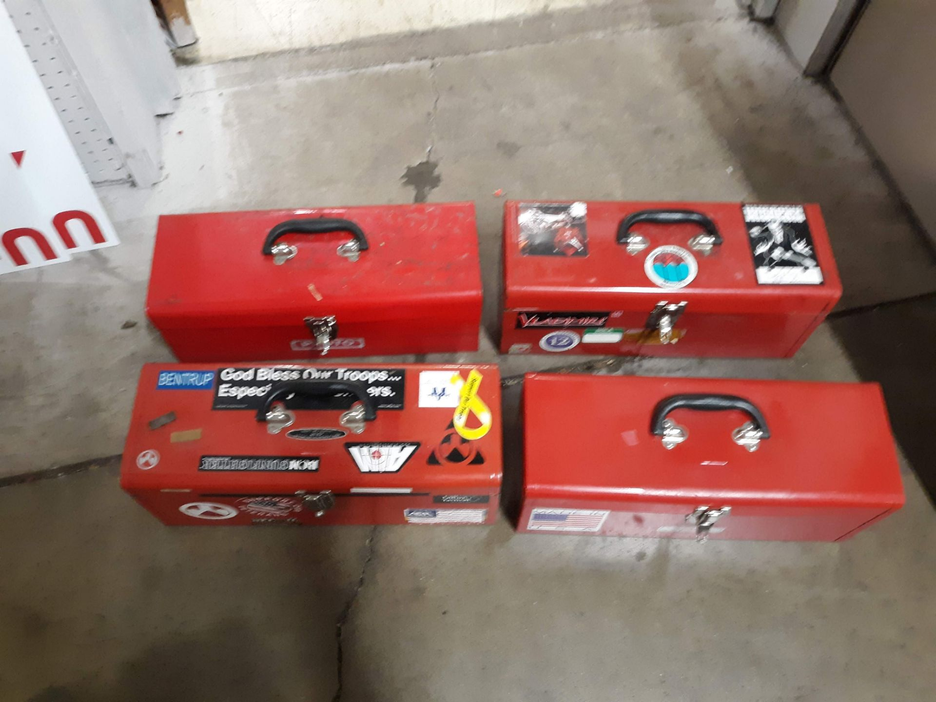 Lot 1108 - (4) TOOL BOXES (LOCATED AT: 432 COUNCIL DRIVE, FORT WAYNE, IN 46825)