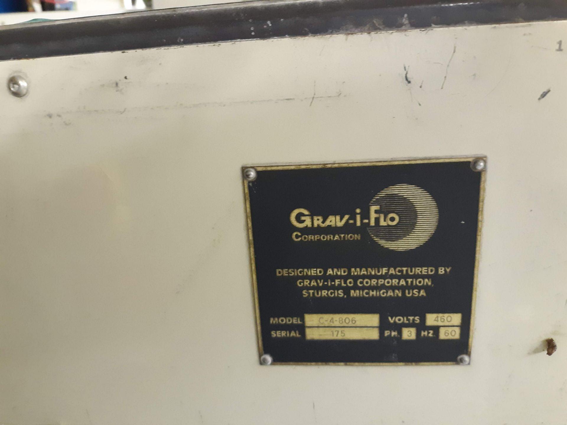 Lot 1238 - GRAV-I-FLO CENTRIFUGAL BARREL FINISHING MACHINE MODEL-C-4-806 S#175 460V/3PH/60HZ (LOCATED AT: 433