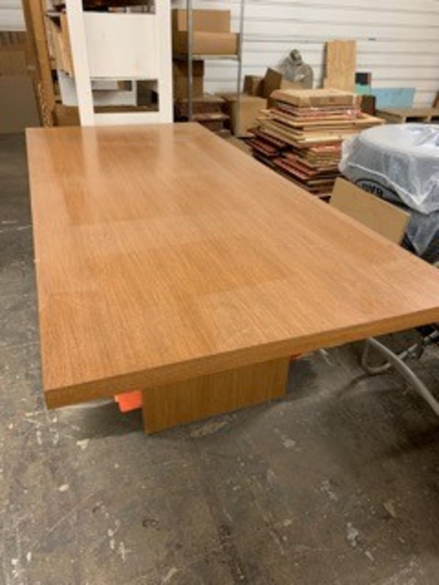 Lot 5064 - 8 FT. CONFERENCE TABLE (LOCATED AT: 16335 LIMA ROAD, HUNTERTOWN, IN 46748)