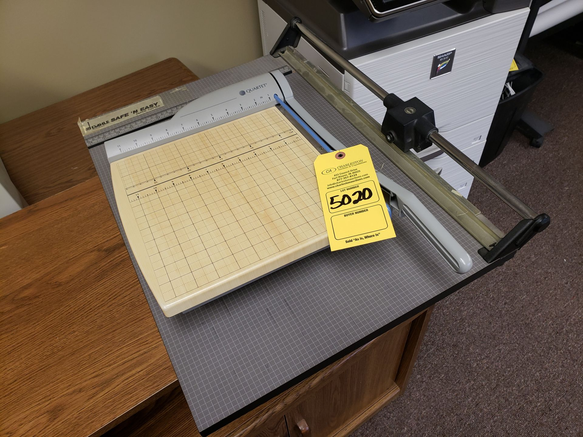 Lot 5020 - PAPER CUTTERS (LOCATED AT: 16335 LIMA ROAD BLDG. 4 HUNTERTOWN, IN 46748)