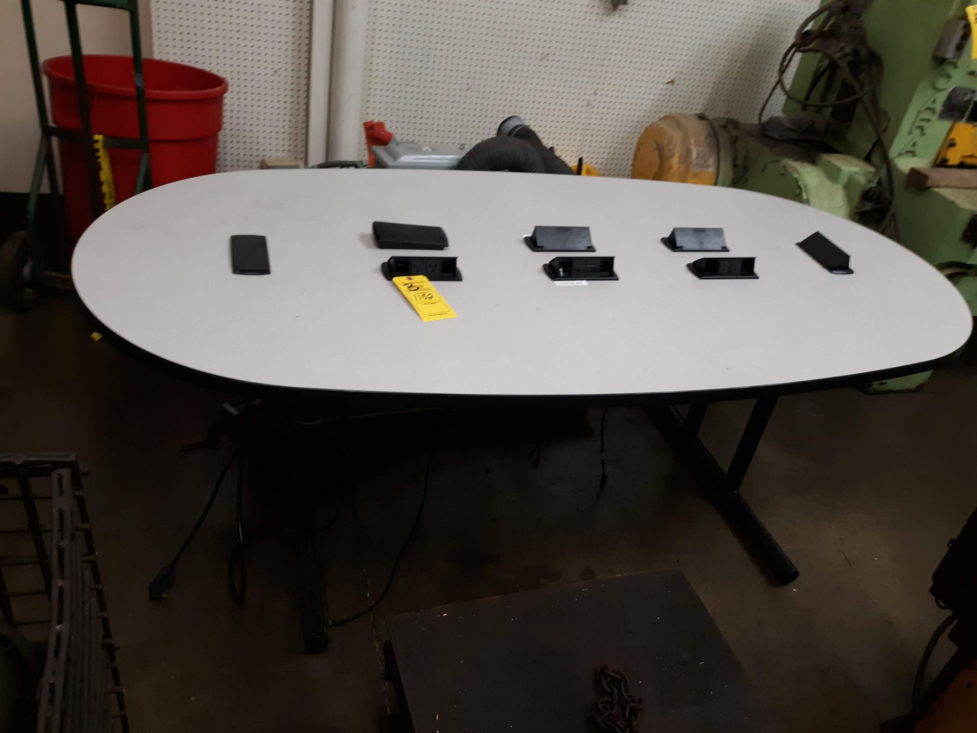 Lot 1102 - CONFERENCE TABLE W/ ELECTRIC OUTLETS (LOCATED AT: 432 COUNCIL DRIVE, FORT WAYNE, IN 46825)
