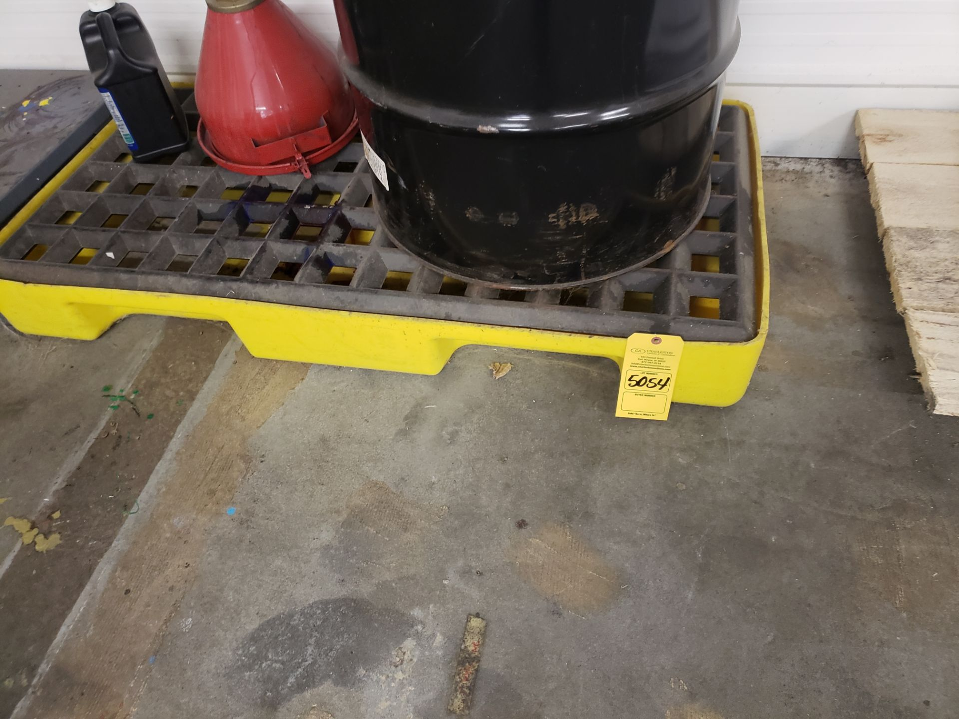 Lot 5054 - SPILL PALLET (LOCATED AT: 16335 LIMA ROAD BLDG. 4 HUNTERTOWN, IN 46748)