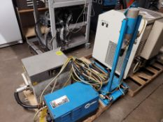 MILLER COOLMATE 3 COOLANT SYSTEM GULMAY LTD X-RAY GENERATOR MODEL-DF160/2 COMET AG X-RAY TUBE