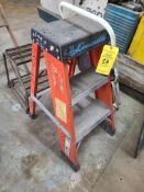 LOT OF (3) STEP STOOLS