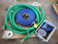 PALLET OF HOSE AND FITTINGS