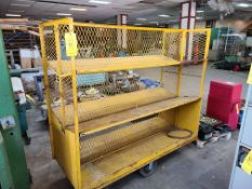 DOUBLE SIDED STEEL PARTS CART