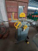 BOYAR-SCHULTZ Manual Grinder machine Model 69735RG1 S/N 21718 Motor 1HP RPM 3450 230 volts1PH 60 Hz/