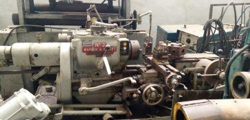 WARNER & SWASEY Co Lathe No 3 Model M-1200 Lot No 402 S/N 1301099 / Torno