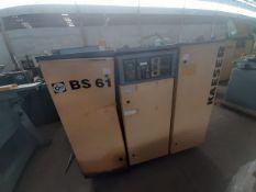 KAESER Air Dryer Model BS 61 50HP/Secador de aire