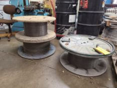 3 SPOOLS OF MISC WIRE