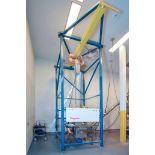 Flexicon Bulk Powder Handling System Scaffold with 2 Ton Hoist