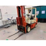 Nissan Propane Forklift 4500 Lbs