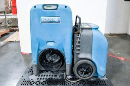 DRI-EAZ LRG3500i and DRIZAIR 1200 Industrial Dehumidifier and Coxreels Hose Reel