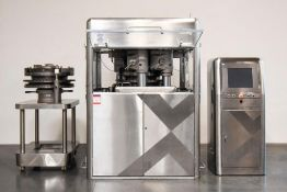 Bosch Xpress 700 49 Station Tablet Press Bi Layer with extra Manesty Turret Head