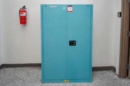 Baby Blue Chemical Cabinet
