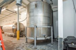 Large Stainless Steel Holding Tank 5,600 Gallons