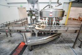 21 Head Federal Rotary Liquid Filling Machine Monoblock