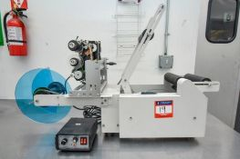 HP 241 Semi automatic labeler with Hot stamp printer