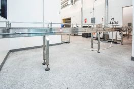 Conveyor Line with Variable Speed Control
