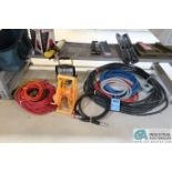 (LOT) EXTENSION CORDS, HOSES, AND LIGHTING
