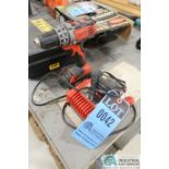 """1/2"""" MILWAUKEE CORDLESS DRILL AND CHARGER"""