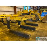 """12 TON X 3-PRONG COIL LIFTER; 65"""" FORKS, 110"""" OVERALL WIDTH"""