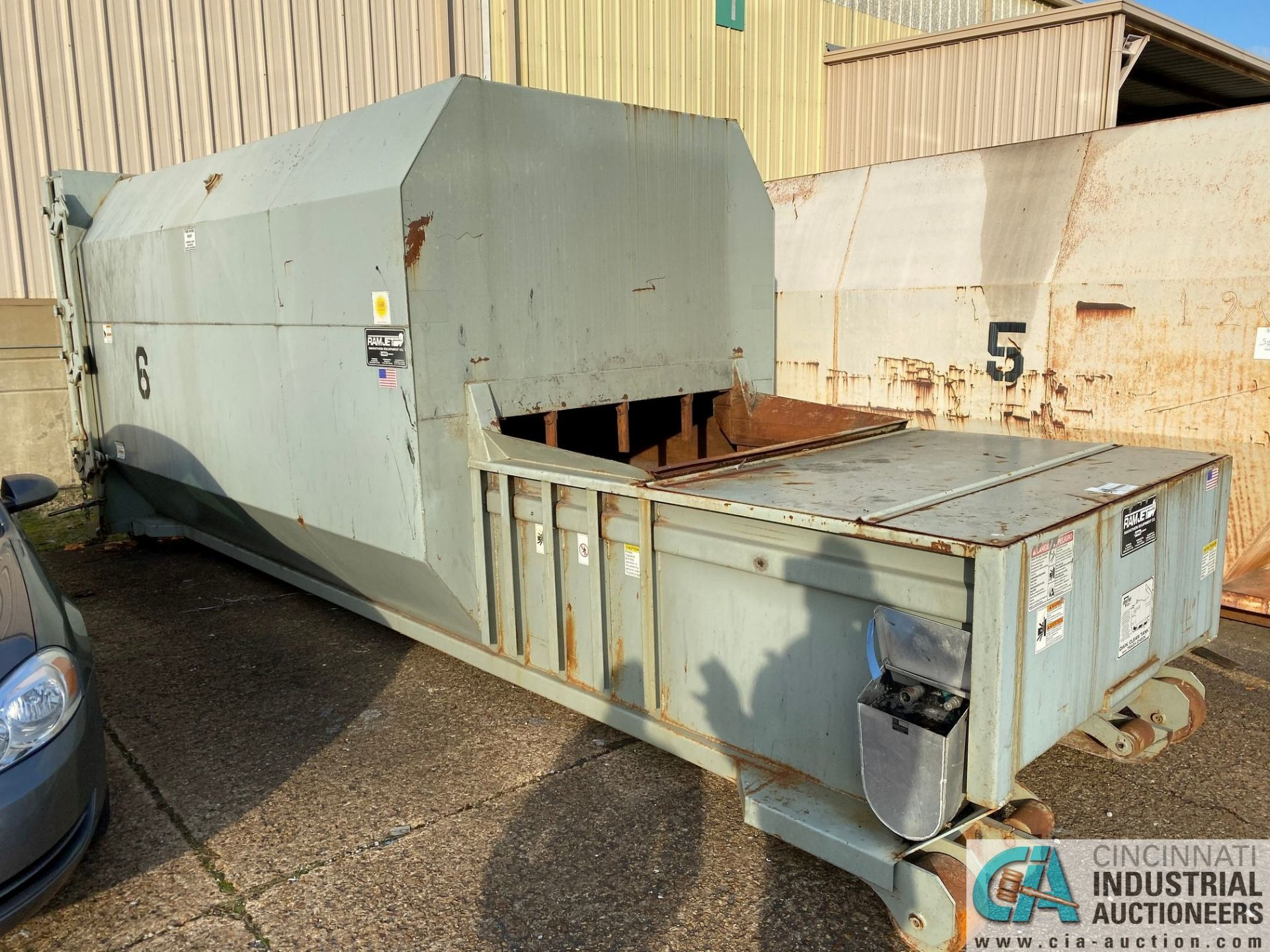 30 YD MARATHON MODEL RJ100-SC-30YD SELF-CONTAINED COMPACTOR/ CONTAINER; S/N 2228709 (2009) 45,200 LB