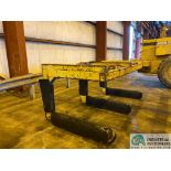 """12 TON X 3-PRONG COIL LIFTER; 48"""" FORKS, 110"""" OVERALL WIDTH"""