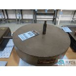 """18"""" DIA. X 4"""" THICK CHALLENGE MODEL LR-1804 LAPPING PLATE"""