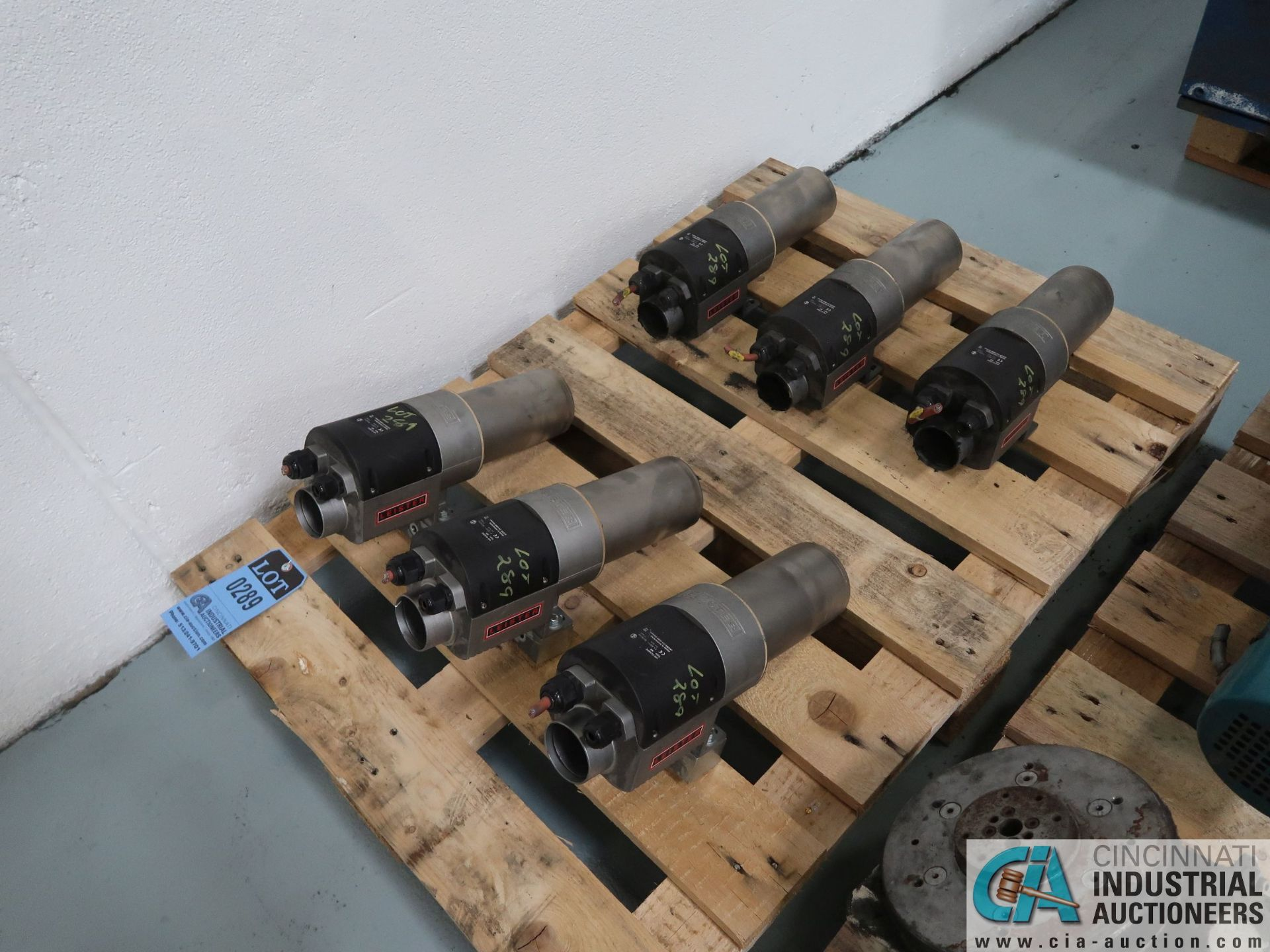 Lot 289 - 11 KW LEISTER BLOWER MOTORS *$25.00 RIGGING FEE DUE TO INDUSTRIAL SERVICES AND SALES*