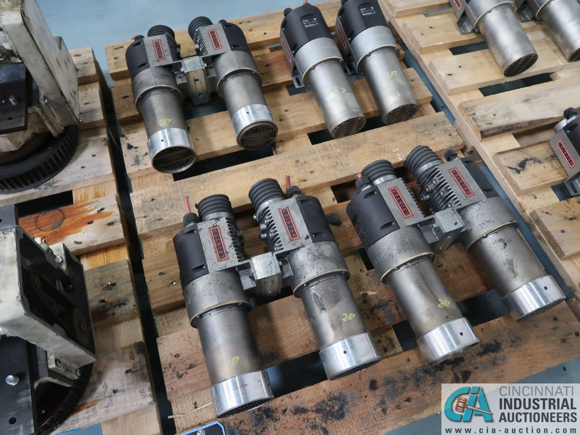Lot 287 - 11 KW LEISTER BLOWER MOTORS *$25.00 RIGGING FEE DUE TO INDUSTRIAL SERVICES AND SALES*