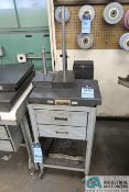 "(LOT) 12"" X 18"" SURFACE PLATE, CHALLENGE GRANITE STEP BLOCK, (3) GRANITE BASE DIAL INDICATOR STANDS,"