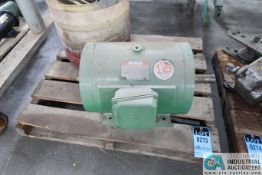 "(LOT) 20 HP MOTOR AND (2) CORE HEATERS - Loading fee due the ""ERRA"" Pedowitz Machinery Movers"