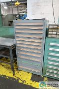 """12-DRAWER LISTA-TYPE CABINET - Loading fee due the """"ERRA"""" Pedowitz Machinery Movers $50.00"""