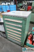 """8-DRAWER LISTA-TYPE CABINET WITH MISC. HOT FORGE TOOLING - Loading fee due the """"ERRA"""""""