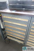 """7-DRAWER LISTA-TYPE CABINETS WITH MISC. 2-5/16"""" OPEN DIES - Loading fee due the """"ERRA"""" Pedowitz"""