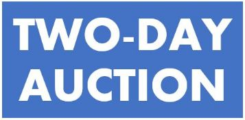 TWO-DAY AUCTION - DAY 1 LOTS 1 THRU 549 - DAY 2 LOTS 550 THRU 1000