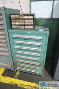 """8-DRAWER LISTA-TYPE CABINET - Loading fee due the """"ERRA"""" Pedowitz Machinery Movers $50.00"""
