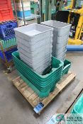 """(LOT) MISC. SIZE COMPOSITE TOTES - Loading fee due the """"ERRA"""" Pedowitz Machinery Movers"""