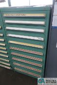 """10-DRAWER LISTA-TYPE CABINET WITH SACMA TOOLING & PARTS - Loading fee due the """"ERRA"""" Pedowitz"""
