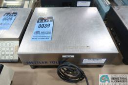 120 LB METTLER-TOLEDO MODEL MB SHIPPING SCALE ** NO DRO **