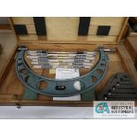 """12"""" - 18"""" MITUTOYO OUTSIDE MICROMETER SET"""