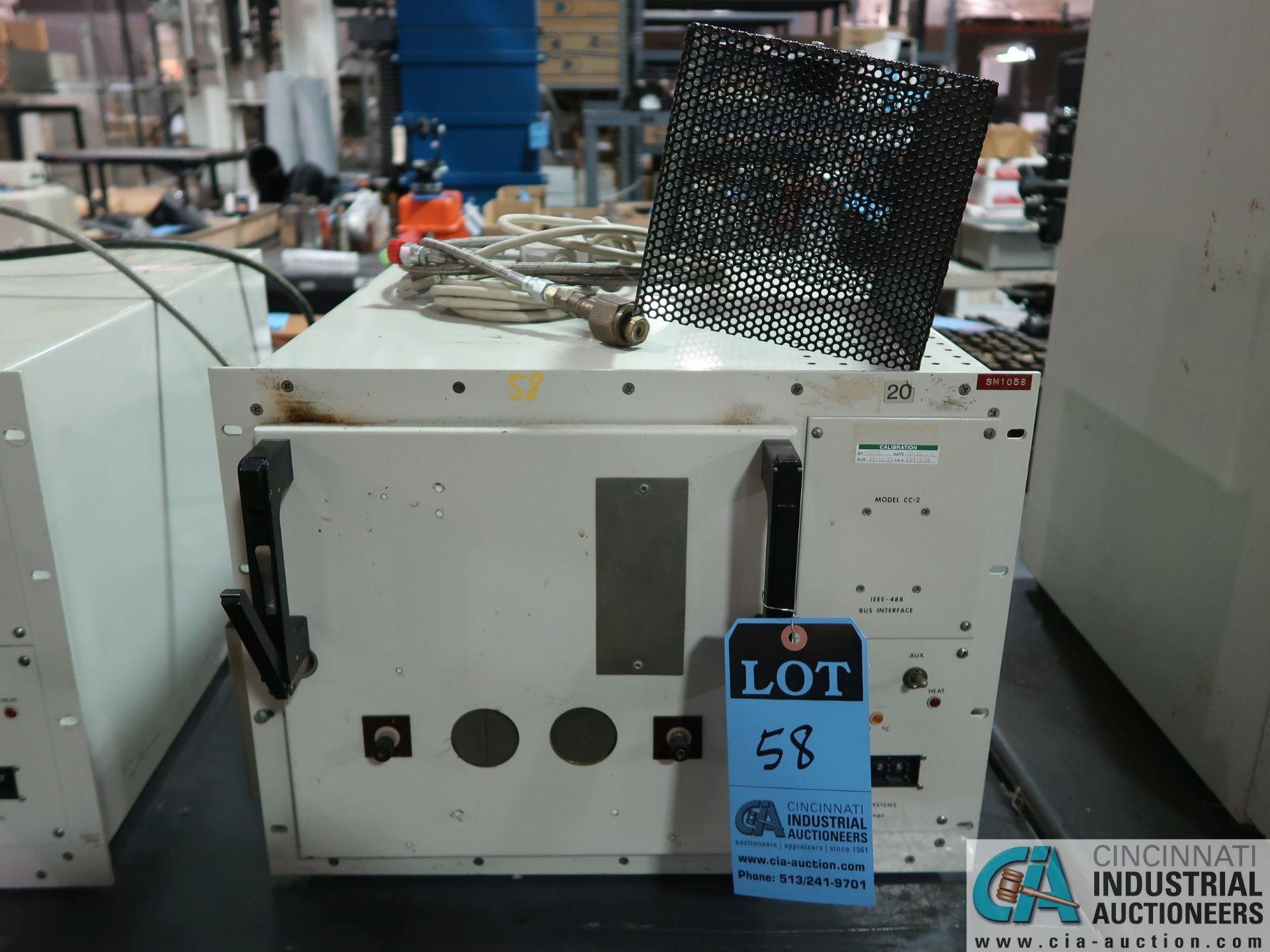 "Lot 58 - SIGMA SYSTEMS MODEL 18RCC TEST CHAMBER; S/N 785, 120 VOLT, CHAMBER DIMENSIONS: 10"" LR X 10"" FB X 10"""