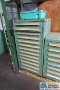 13-DRAWER TOOLING CABINET WITH TOOLING